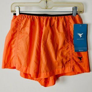 NEW Insport Low Rise Running Shorts Small Orange